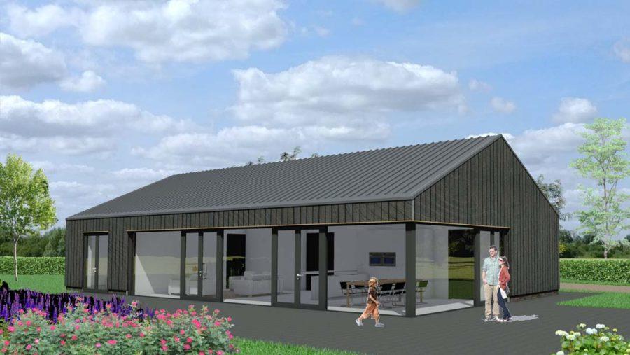 Perfect levensloop bestendig with huis laten bouwen voor for Houten huis laten bouwen